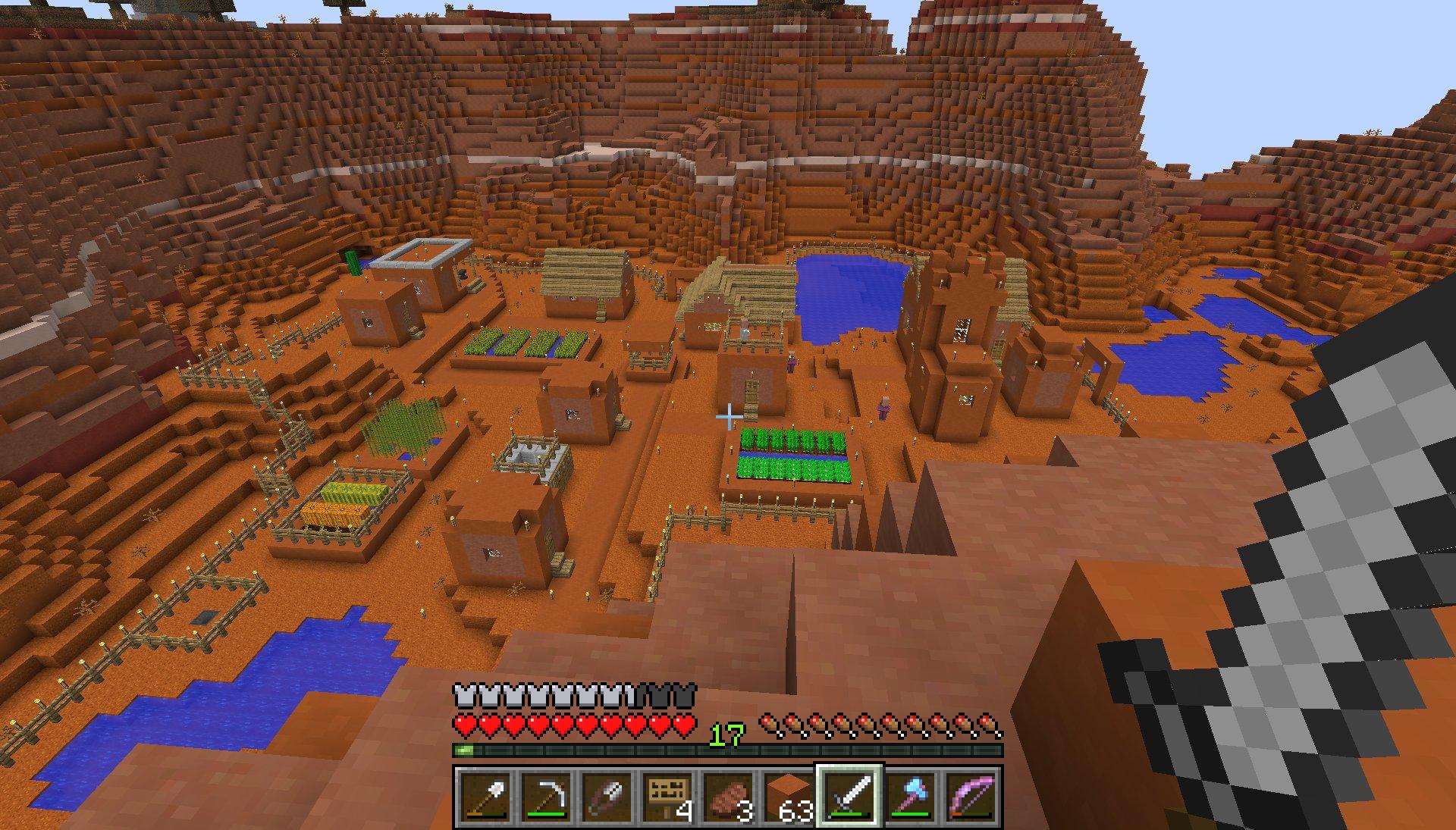 Minecraft Village Finder - Lock Down o