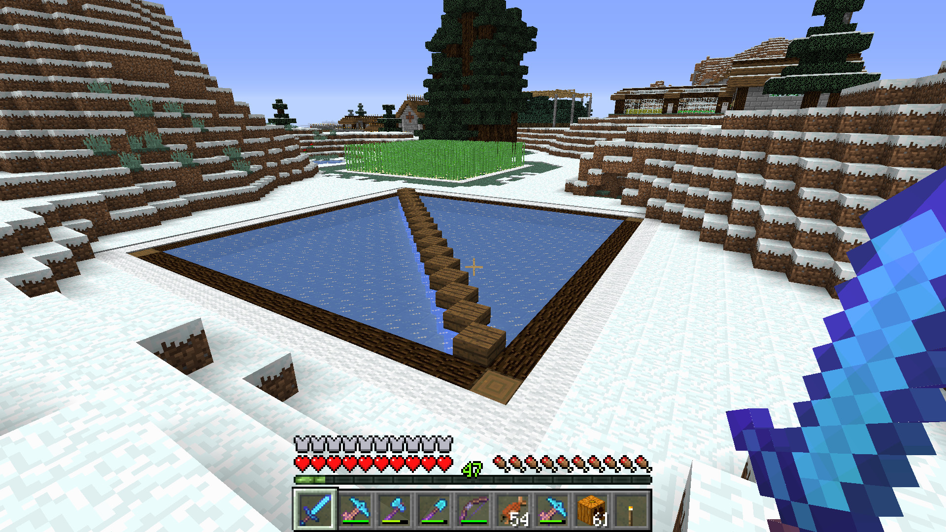 The Diamond Hammer Minecraft With Of Retribution Ogg Cast Monostable Circuit Day 745 15 January 2002 You May Be Wondering Why Ive Built An Ice Tray In Land Always Winter When Rivers Will Full